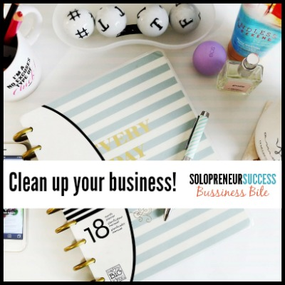 clean up your business